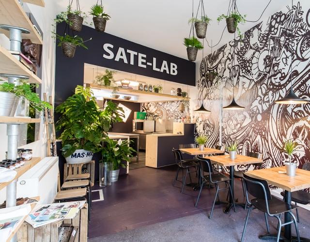 Saté-man bestellen via Foodora